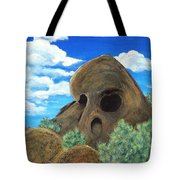 Skull Rock Tote Bag