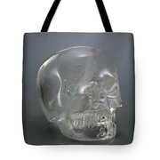 Skull Rock Crystal Tote Bag