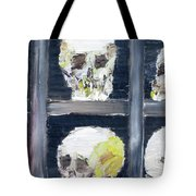 Skulls In The Crypt Tote Bag