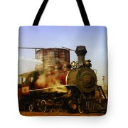Skunk Train Tote Bag