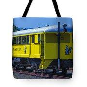 Skunk Train Passenger Car Tote Bag
