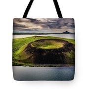 Skutustadagigar Pseudo Craters, Lake Tote Bag