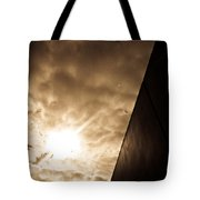 Sky Above The Wall Tote Bag