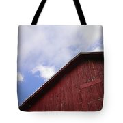 Sky And Barn Tote Bag