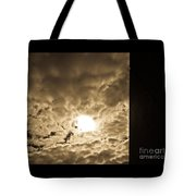 Sky And Wall Tote Bag