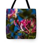 Sky Blue Pink Tote Bag
