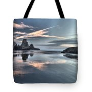 Sky Crosses Tote Bag