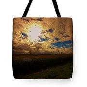 Farmland Sky Tote Bag
