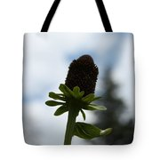 Sky Flower Tote Bag