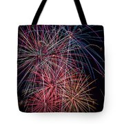 Sky Full Of Fireworks Tote Bag