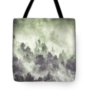 Sky Joins The Earth Tote Bag