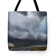 Sky Meets Earth Tote Bag
