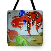 Sky Mermaid Tote Bag