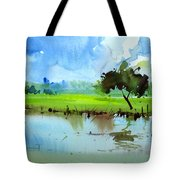 Sky N Farmland Tote Bag