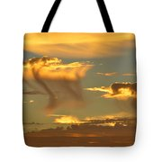 Sky Of Snakes Tote Bag