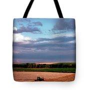 Sky Over Harvest Tote Bag