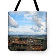 Sky Over Tuscany Tote Bag