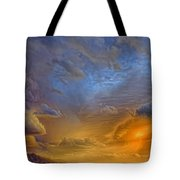 Sky Painting Photo 3621 Tote Bag