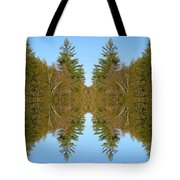Sky Pines II Tote Bag