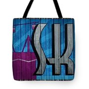 Sky Ride Panorama Tote Bag