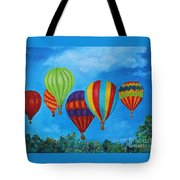 Sky Skittles Tote Bag
