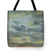 Sky Study, Sunset, 1821-22 Tote Bag