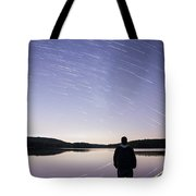 Sky Trails Tote Bag