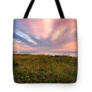 Sky Waves Tote Bag