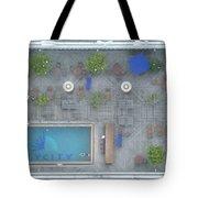Skycity Pool Tote Bag