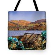 Skye Fishing Pots Tote Bag