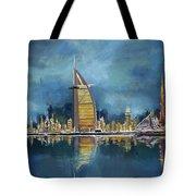Skyline Burj-ul-khalifa  Tote Bag