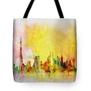 Skyline Collage  Tote Bag