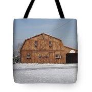 Skyline Farm Horse Barn Tote Bag