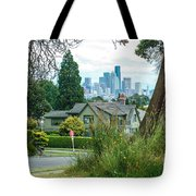 Skyline From Magnolia 2 Tote Bag