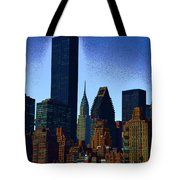 Skyline From Roosevelt Island Tote Bag