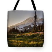 Skyline Meadows Sunstar Tote Bag