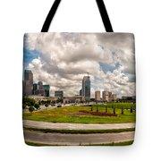 Skyline Of Charlotte Towers Tote Bag