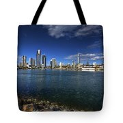 Skyline Of Surfers Paradise Tote Bag