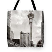 Sky Tower's Queen St Couple.nz Tote Bag