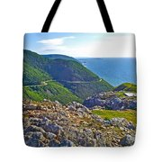 Skyline Trail And Road Through Cape Breton Highlands Np-ns Tote Bag