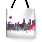 Skyline Warsaw Tote Bag