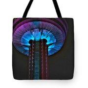 Skylon In Purple Tote Bag