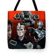 Skynet Vs Ocp Tote Bag