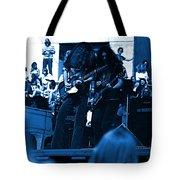 Skynyrd #5 Crop 1 In Blue Tote Bag