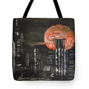 Skyrise Moon Tote Bag