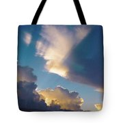 Skyscape - Puffy White Clouds Tote Bag