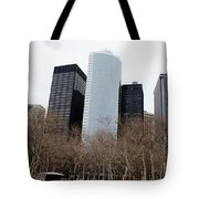 Skyscrapers Of The Battery Tote Bag