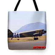 Skytrain In French Valley Tote Bag