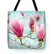 Skyward Magnolia Painterly 4 Tote Bag