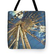 Skywheel At Niagara View Tote Bag